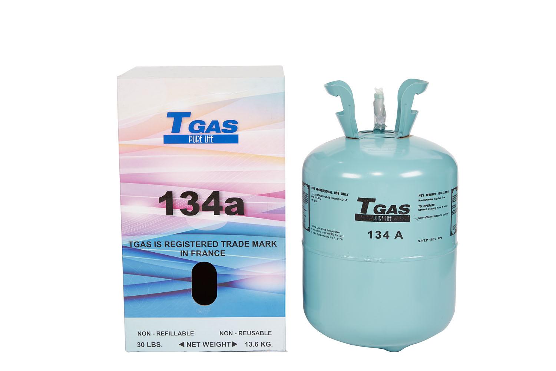T GAS 134a  13,6 Kg.