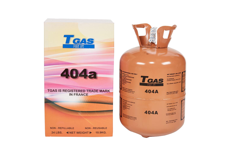 T GAS  404A  10,9 Kg.