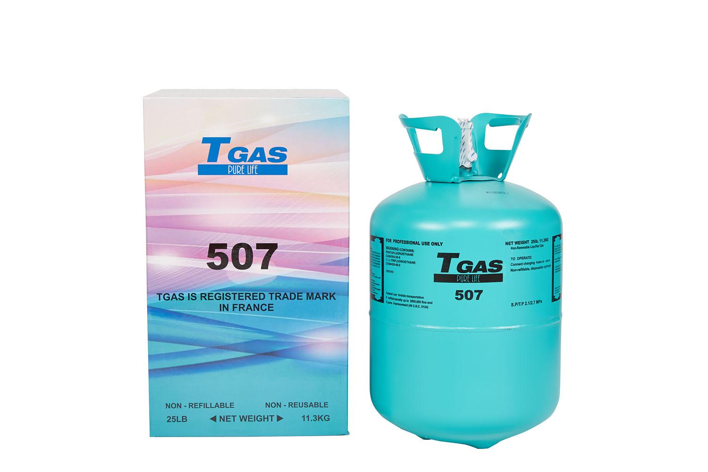 T GAS  507  11,3 Kg.